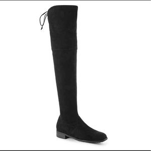 Unisa over the knee suede boots